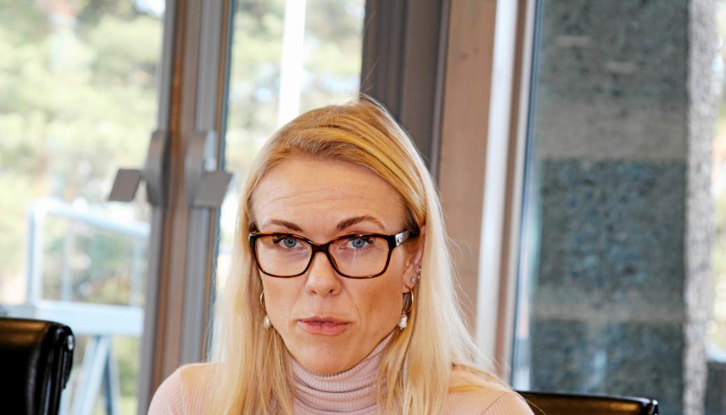 KOMMUNEOVERLEGEN: Kerstin Anine Johnsen Myhrvold kommer til akademiet for å fortelle om koronakrisen.