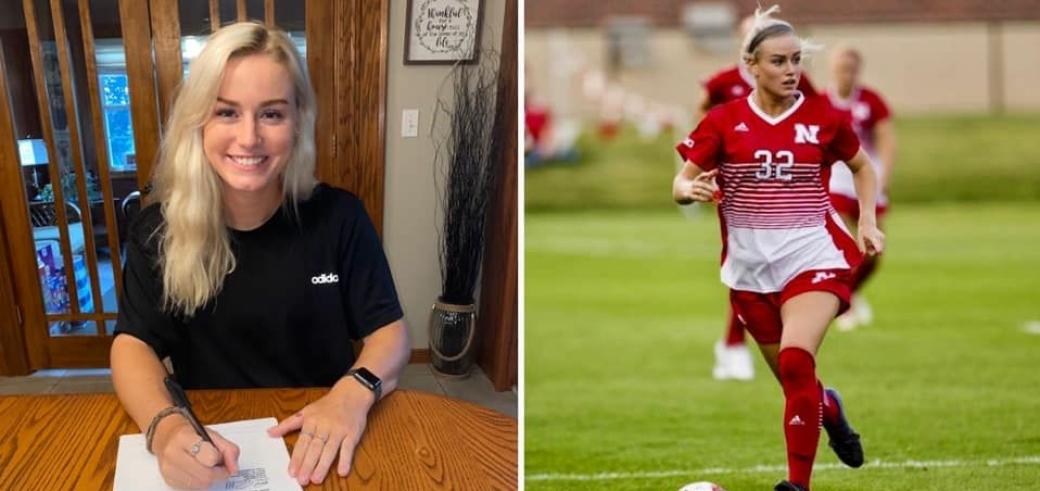 FØRSTE PROFFKONTRAKT: Meg Brandt er snart på vei til Norge og Kolbotn Toppfotball.