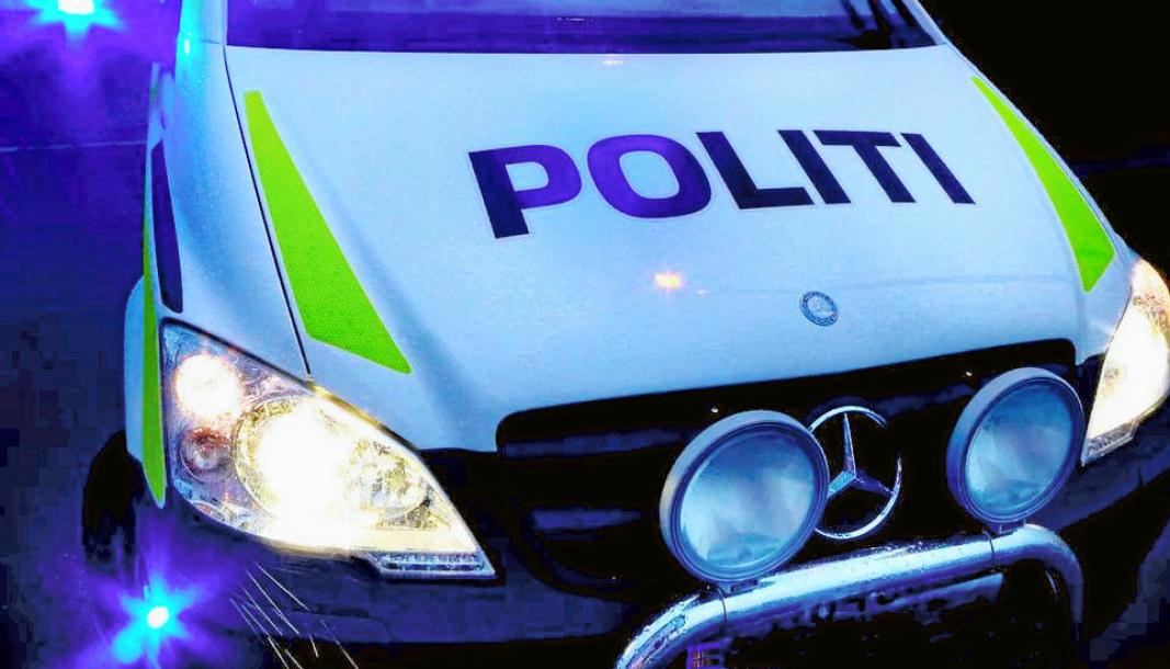 FORBIKJØRING: Trafikkulykken skjedde i forbindelse med forbikjøring.