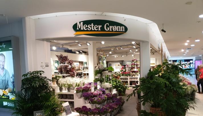 KONKURRENT: Mester Grønn Kolbotn, som har vært på Kolbotn torg siden kjøpesenteret ble åpnet i 2008, blir den nærmeste konkurrenten. Foto: Yana Stubberudlien