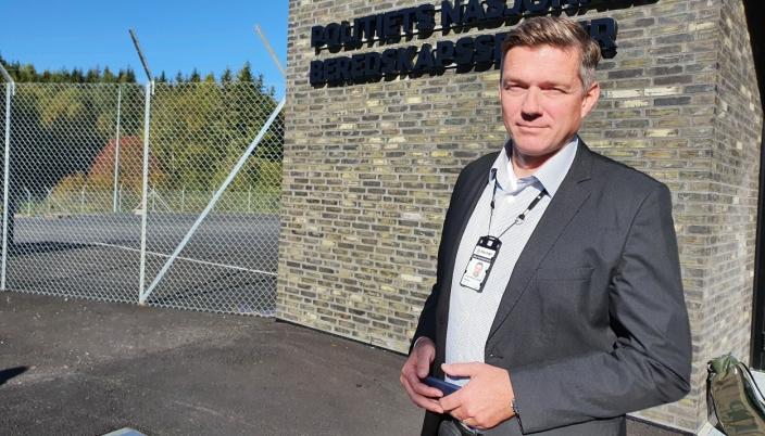 VARSLER OM STØY: Steinar Wulfsberg-Gamre, senior kommunikasjonsrådgiver i Oslo politidistrikt. Foto: Yana Stubberudlien