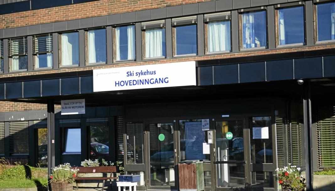UTBRUDD: Fire av de smittede er i kategorien ansatte og seks i kategorien pasient/pårørende, opplyser Nordre Follo kommune.