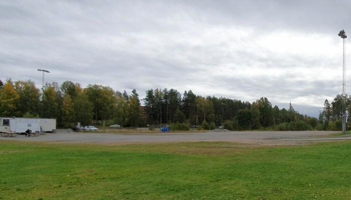 SLIK SER DET UT I DAG: Slik ser det ut på aktuelle området ved grusbanen i dag. Foto: Yana Stubberudlien