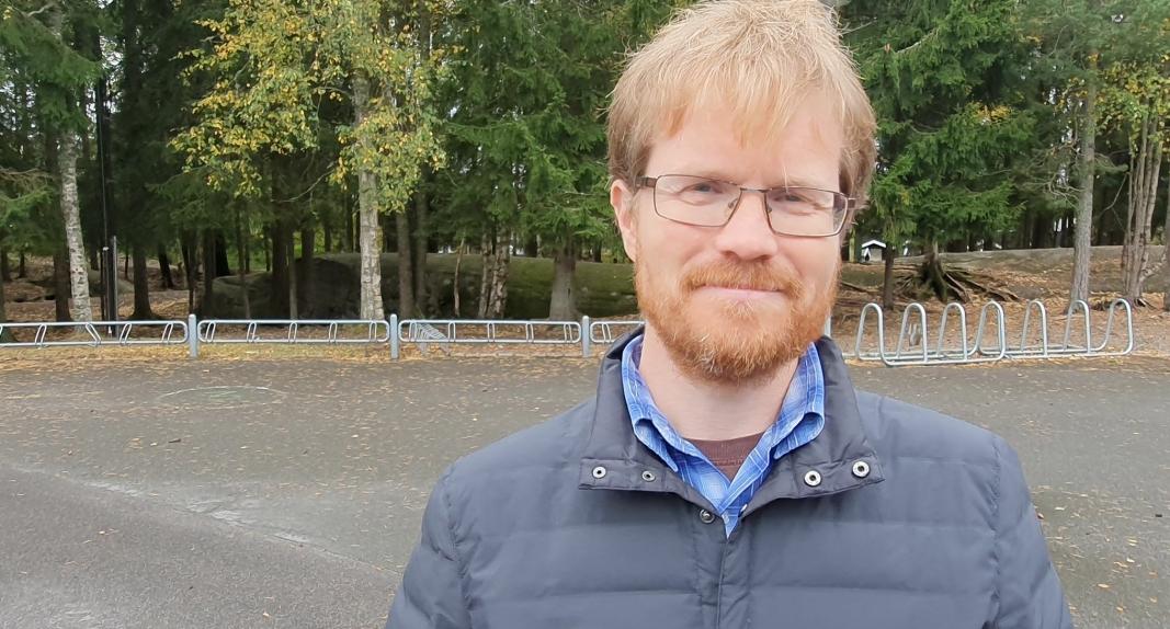 INITIATIVTAKER: Øivind Kruse startet et opprop lørdag 26. september. Foto: Yana Stubberudlien