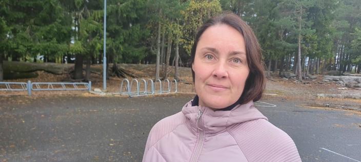 FRITT SKOLEVALG: FAU-medlem Beate Schrøder (48) reagerer også på at fritt skolevalg foreslås fjernet.