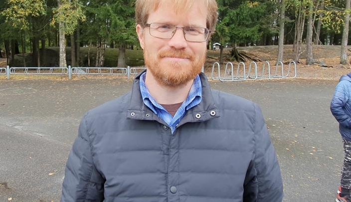 STARTET OPPROP: Initiativtaker til oppropet er tobarnsfar Øivind Kruse. Foto: Yana Stubberudlien