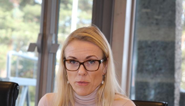 PLANLEGGER GRADVIS ÅPNING: Kommuneoverlege Kerstin Anine Johnsen Myhrvold er med i planleggingen når det nå åpnes for en gradvis gjenåpning av den rammede avdelibngen ved Ski sykehus.