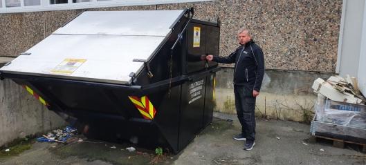 Forbannet på søppelsynderne