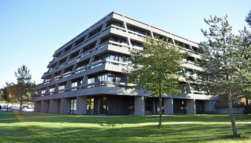 IKKE LENGER RÅDHUS: Nå trenger Oppegård rådhus nytt navn. Frem til 2. november kan du sende inn forslag.