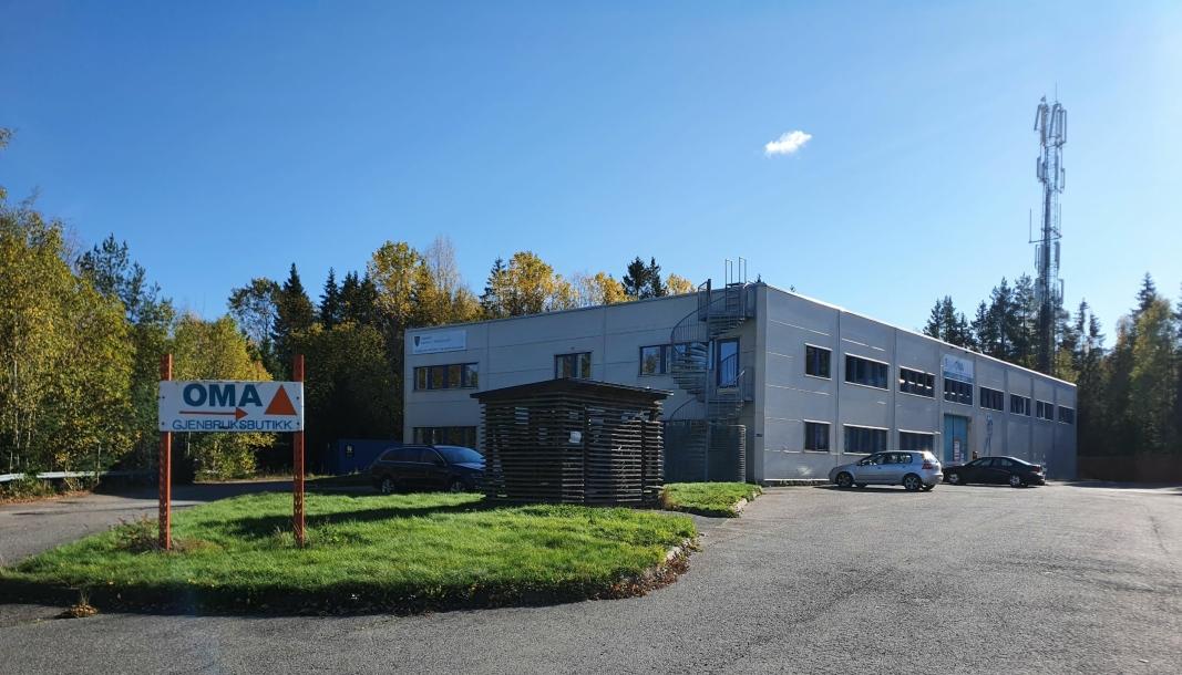 BLIR OPP TIL KOMMUNESTYRET: Sofiemyrveien 16 er også på listen over de totalt 30 eiendommene i Nordre Follo som skal vurderes solgt, men rådmannen anbefaler at eiendommen beholdes av kommunen av strategiske hensyn, med sikte på eventuell transformasjon i fremtiden.