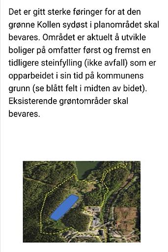 DEL AV NEDRE EKORNRUD FORESLÅS SOLGT: Kommunen foreslår å omregulere det blå feltet av eiendommen Nedre Ekornrud til boligformål. Den gule markeringen viser hele planområdet. Innenfor planområdet vil arealene reguleres til ulike formål, herunder grønnstruktur, veiareal med mer, ifølge Zorica Gavric i Nordre Follo kommune. Kilde: Nordre Follo kommune