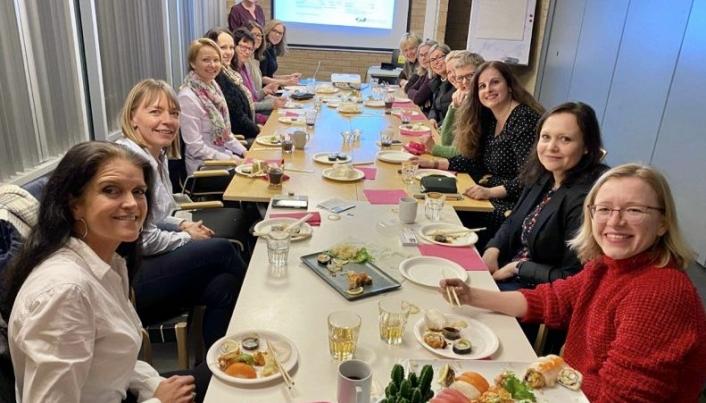 SOSIALT OG LÆRERIKT: Medlemsmøtene arrangeres på Tårnåsen aktivitetssenter en gang per måned. Foto: Privat