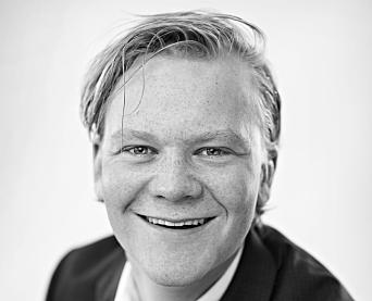 UNG MEGLER: Ola Presterud er eiendomsmegler i Attentus Eiendomsmegling på Kolbotn