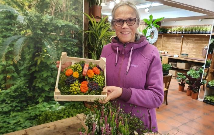 BLE IMPONERT: – Her kommer jeg til å handle mye, sier Ruth Hansen fra Greverud.