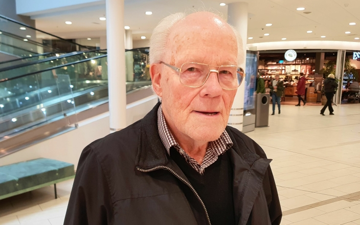 Ørnulf Eriksen (79) fra Tårnåsen.