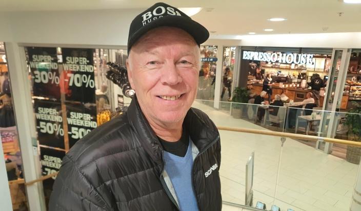 Rune Solberg (70) fra Kolbotn.