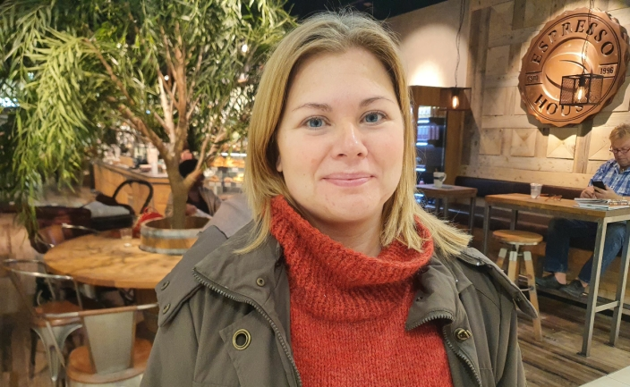 Maria Holmqvist (40) fra Tårnåsen.