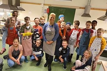 Brenner for mat og helse på skolen