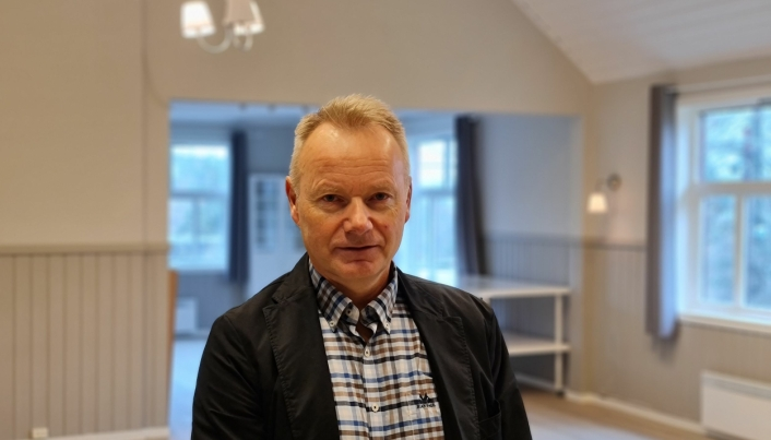 UTFORDRINGER: – Vi har sagt at hvis vi ikke får driften her bærekraftig i løpet av en femårsperiode, må fremtiden revurderes, sier Geir Hokholt.