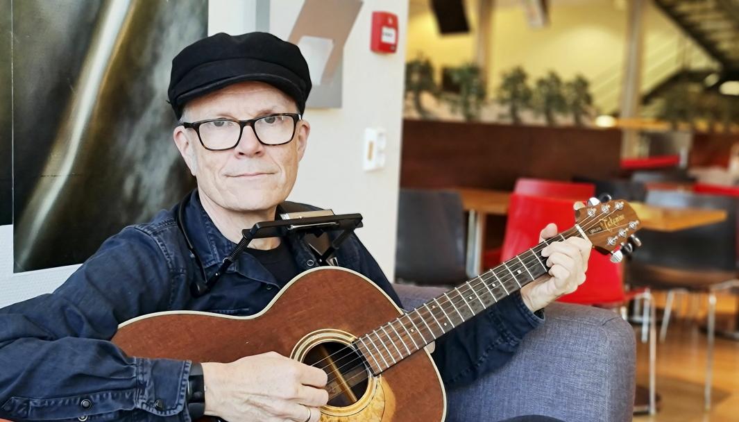 NY MUSIKK: Ståle Stålmann Kverndokk fra Oppegård har gitt ut EP i koronatiden. «Hjemmesjuk blues».