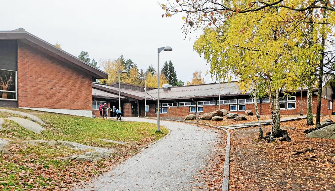 FØRSTE TILFELLE: Nordre Follo kommune gikk mandag ut med melding om at det er konstatert koronasmitte ved Vassbonn skole.