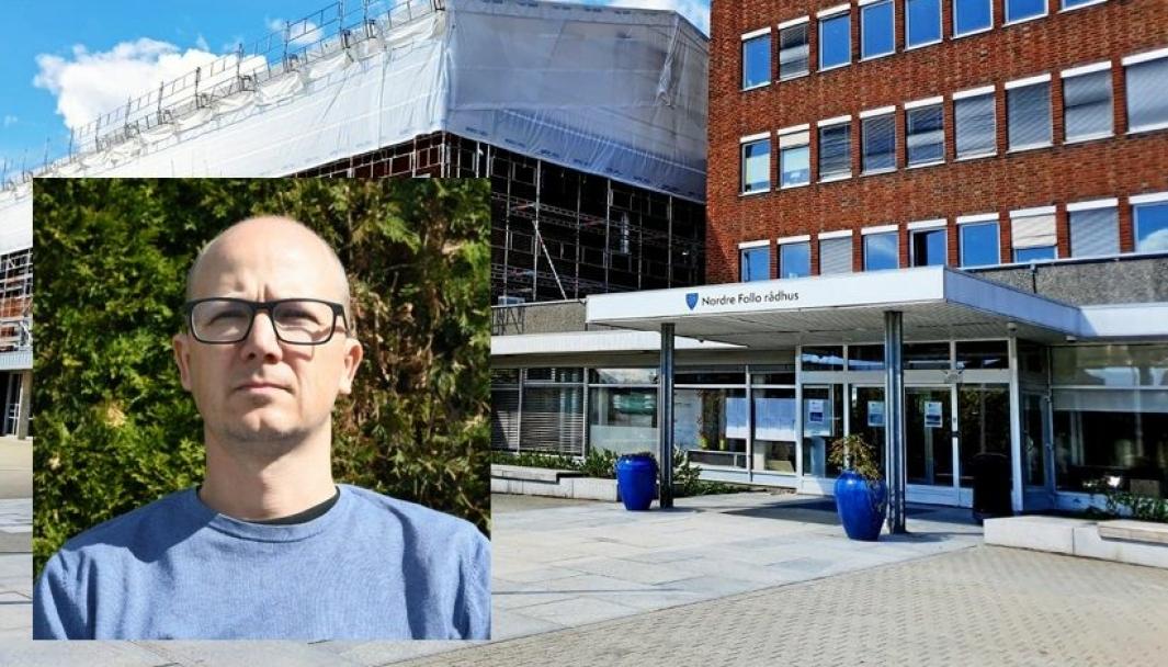 TROR IKKE PÅ AKSON: – Jeg håper Nordre Follo er villig til å snu og heller se at det kan være fruktbart å samarbeide med Oslo hvis det er mulig, sier IT-konsulent Georg Sirnes Lundesgaard fra Solbråtan.