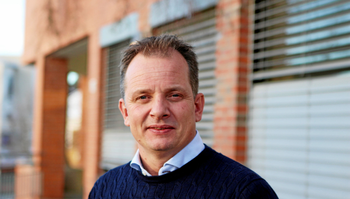 SVARER PÅ SPØRSMÅL: Bent A. Norderhaug i Attentus Eiendom på Kolbotn.