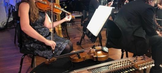 Spiller med Aurora i «Stjernestøv»