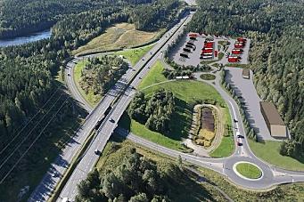 Vil bygge 250 døgnhvileplasser for tungtransport på Taraldrud