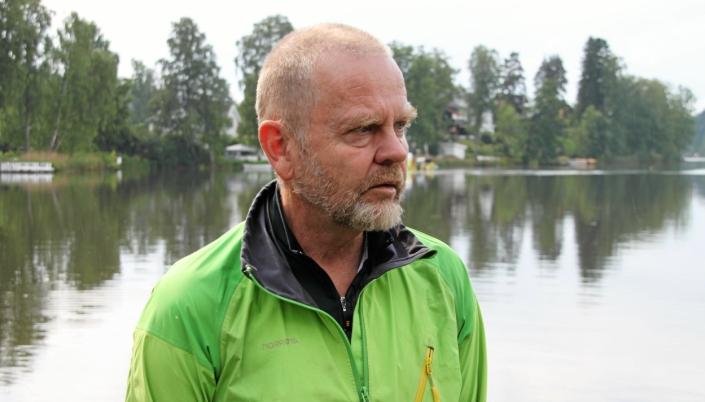 REAGERER STERKT: Bjørn Gunnar Ganger.