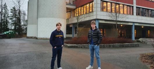 Kjemper for Fløysbonn skole
