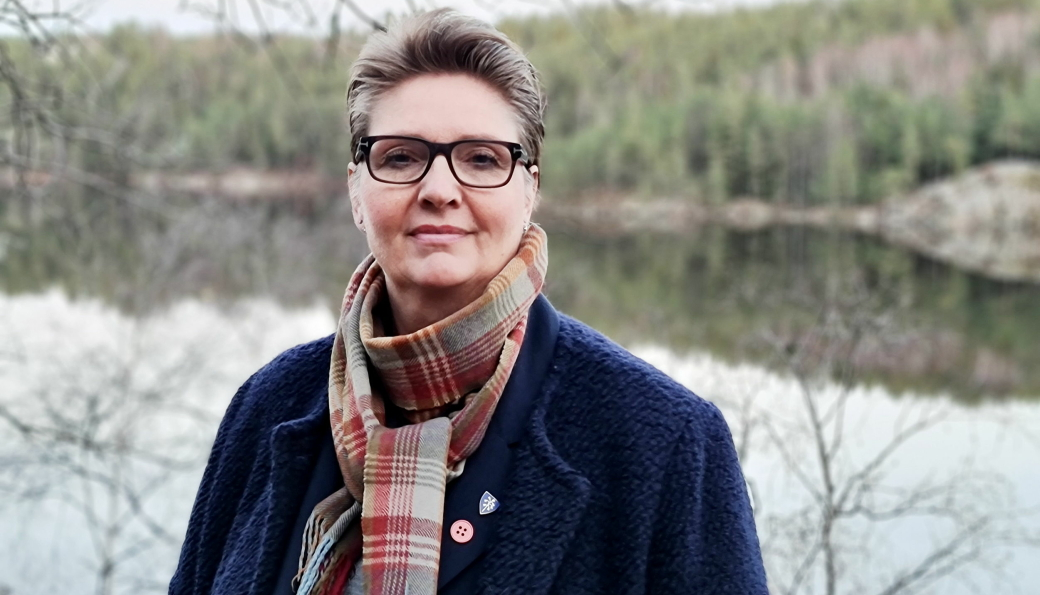 VARME TANKER: – Mine varmeste tanker går til de nærmeste pårørende, sier ordfører Hanne Opdan.