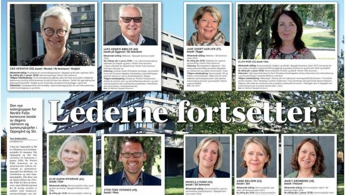 FAKSIMILE: Her kan du se faksimile fra oppslaget i Oppegård Avis fra den 9. august 2018.
