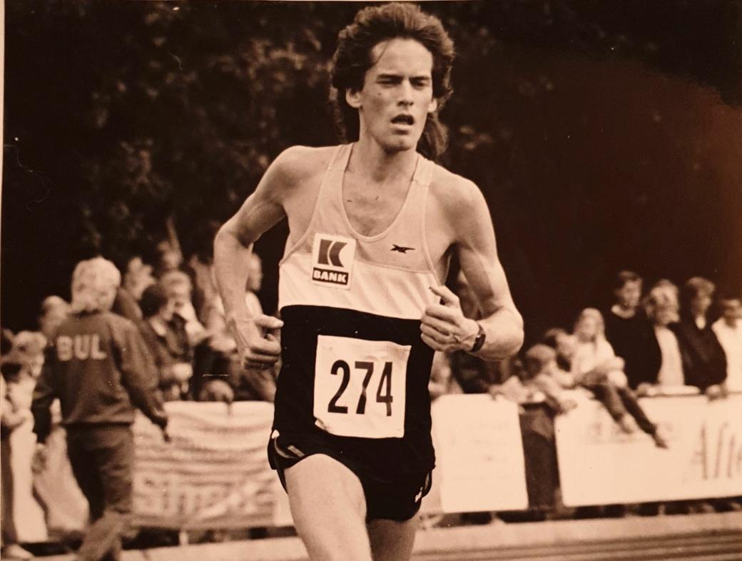 SLO DE FLESTE: Bjørn Nordheggen kom nærmest fra intet og slo de aller fleste da han entret friidrettsbanen.