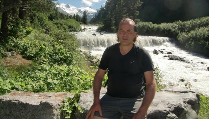 I DAG: – Jeg sykler en del og har stor glede av å trene fortsatt, sier Bjørn Nordheggen i dag.