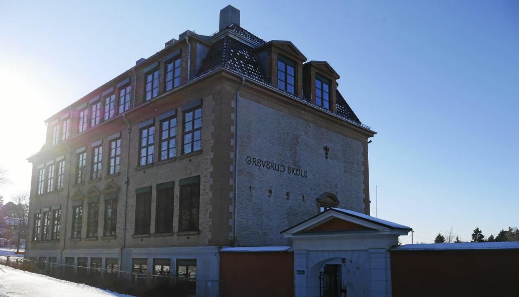 I KARANTENE: 30 personer er i karantene etter at en person tilknyttet Greverud skole har testet positivt på korona.