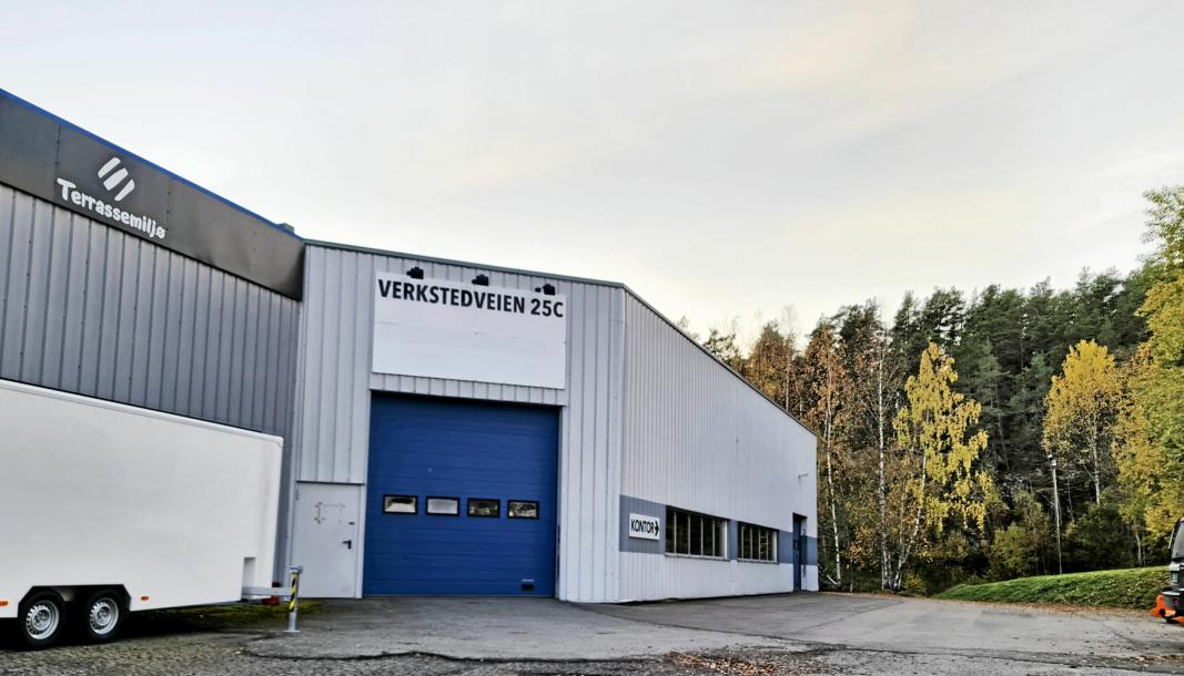 SMITTE: Smittevernteamet består blant annet av teststasjonen i Verkstedveien i Ski. Kommunen opplyser av teststasjon og smittesporing driftes som normalt.
