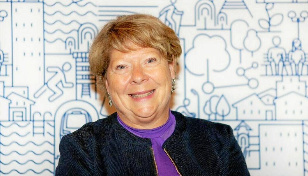 SVARER: Jane Short Aurlien er konstituert rådmann i Nordre Follo kommune.