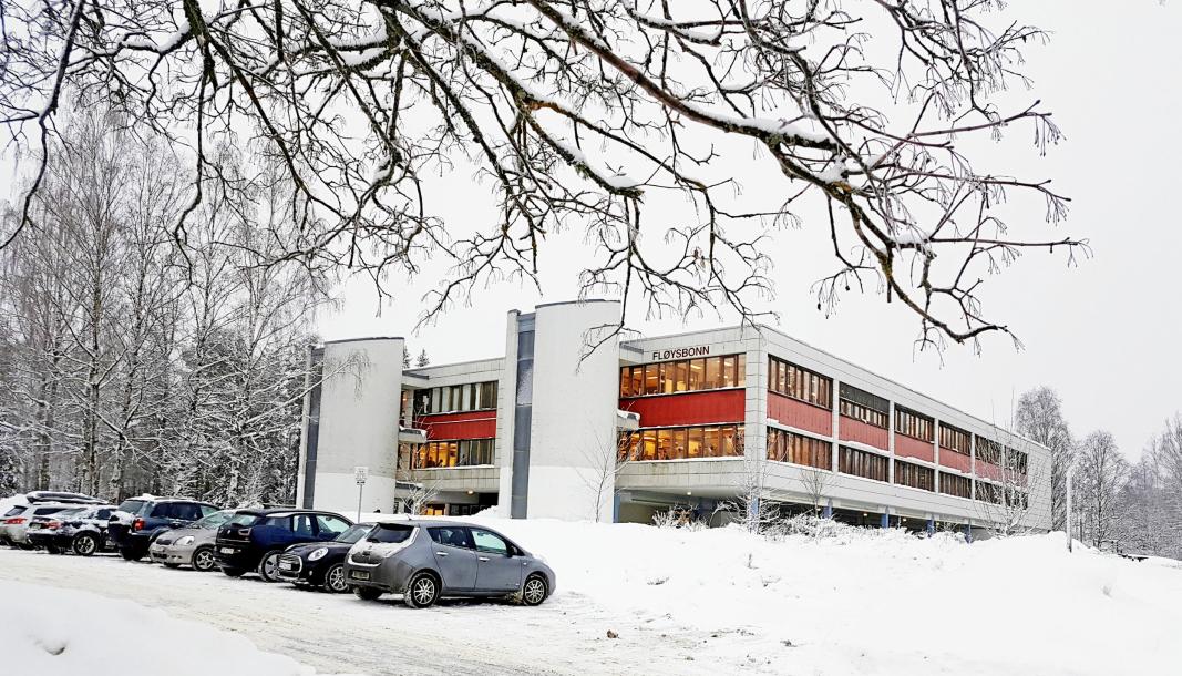 ETT SMITTETILFELLE: Mandag ble det bekreftet at en person er koronasmittet ved ungdomsskolen på Sofiemyr.