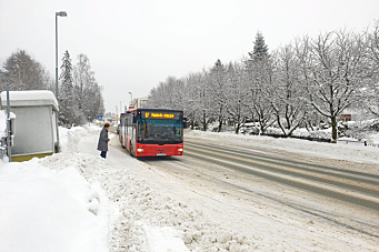 Direkte bussforbindelse mellom nord og sør