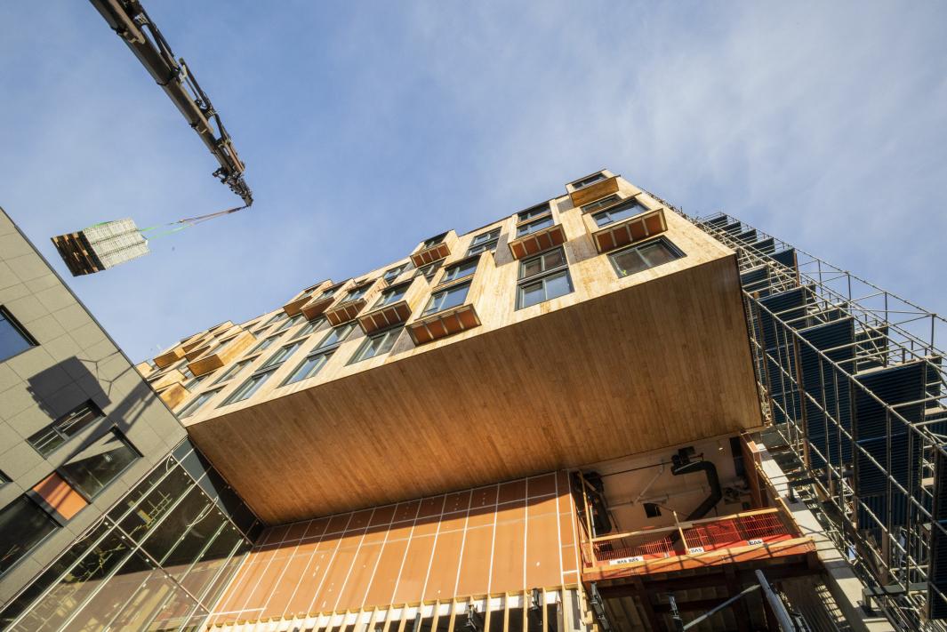 SKAL ÅPNES I JUNI 2021: Det nye hotellet skal åpnes til sommeren. Foto: The Well