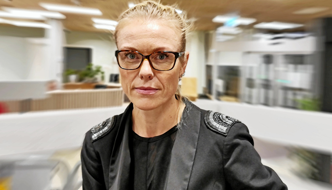 KOMMUNEOVERLEGE: Kerstin Anine Johnsen Myhrvold sier det ikke er overraskende at den muterte virusvarianten har kommet til Nordre Follo.