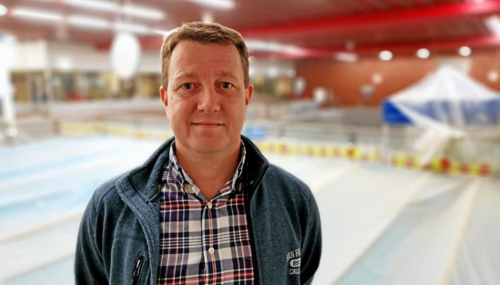 VIRKSOMHETSLEDER: Hogne Haug er virksomhetsleder for byggdrift i kommunen.
