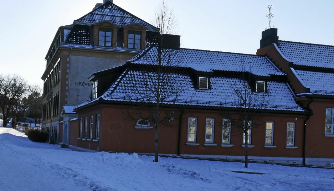 STENGT: Skolene i Nordre Follo skal holde stengt hele den kommende uken. Dette vedtok formannskapet mandag kveld. Her er Greverud skole.
