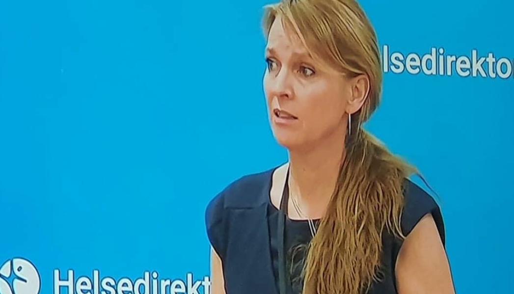 VIL IKKE ENDRE VAKSINASJONSSTRATEGIEN: Avdelingsdirektør Line Vold i FHI.