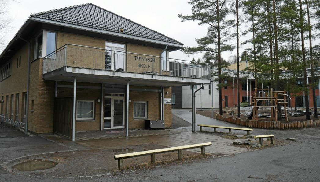 FRA 7 TIL 15 PÅ ET DØGN: Antall smittede tilknyttet Tårnåsen skole har økt fra 7 til 15 siden i går kveld. Foto: Yana Stubberudlien