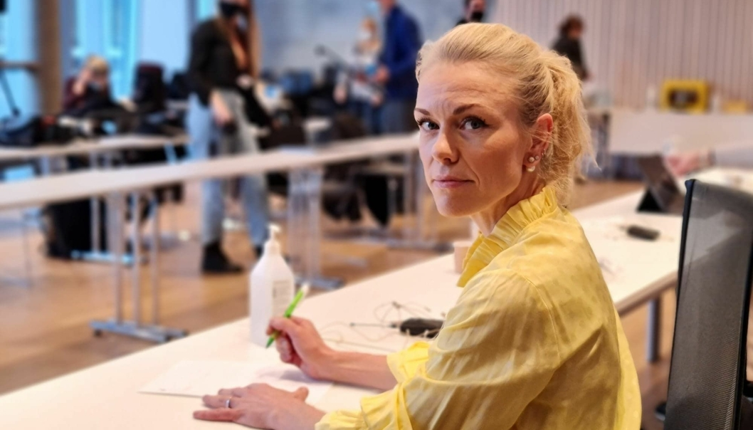 NYE TILFELLER: Kommuneoverlege Kerstin Anine Johnsen Myhrvold kan fredag konstatere at tallet på tilfeller av mutert koronavirus i kommunen er oppe i 71.