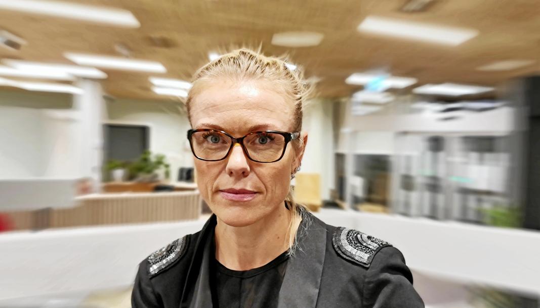 VIL HA RØDT NIVÅ: Kommuneoverlege Kerstin Anine Johnsen Myhrvold.