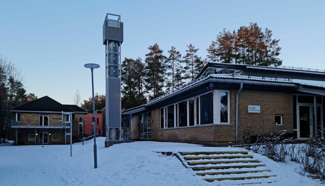 MANGE SMITTEDE: Antallet smittede stiger ved Tårnåsen skole.
