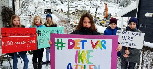 Full seier for barna: Kolbotn skole forblir barneskole